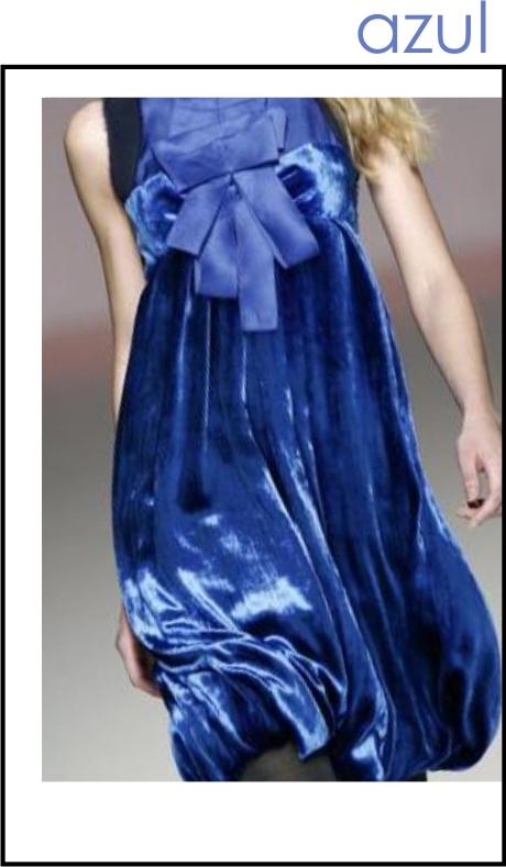 vestidode fiesta azul